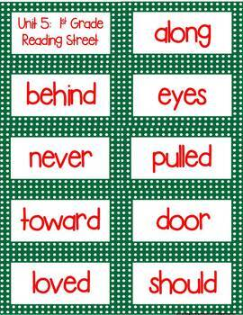 1st Grade Letter and Sight Word Flash Cards