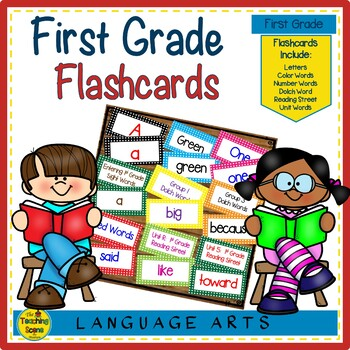 1st Grade Sight Word Flash Cards