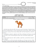 1st Grade Life Science Unit Test - Louisiana State Standards for Science 1-LS1-2