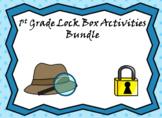 1st Grade Lock Box Math Bundle