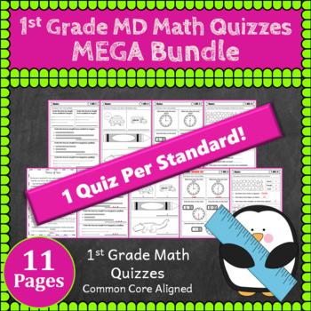 1st Grade MD Math Bundle: Measurement & Data Curriculum, 1st Grade MEGA Bundle