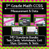 1st Grade MD Math Bundle: Measurement & Data Curriculum, 1st Grade MEGA Bundle