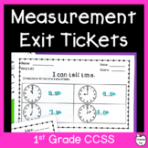Measurement & Data Assessment Pack ~ 1st Grade MD Standard
