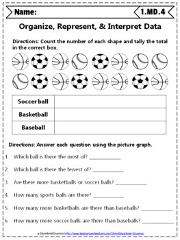 1st grade md worksheets 1st grade math worksheets measurement data. Black Bedroom Furniture Sets. Home Design Ideas