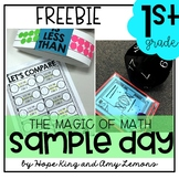 1st Grade Magic of Math FREEBIE:  Sample Day