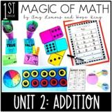 1st Grade Magic of Math Unit 2:  Addition