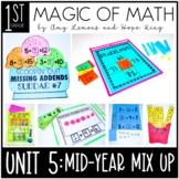 1st Grade Magic of Math Unit 5:  Mid Year Mix-Up