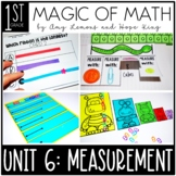 1st Grade Magic of Math Unit 6:  Nonstandard Measurement