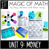 1st Grade Magic of Math Unit 9:  Money and Financial Literacy