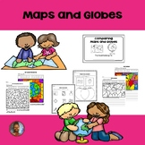 1st Grade: Maps and Globes
