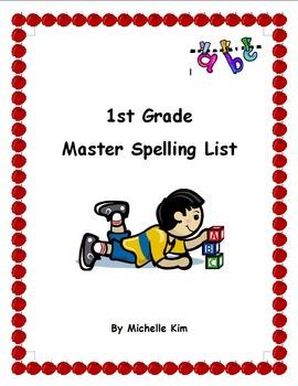 1st Grade Master Spelling List