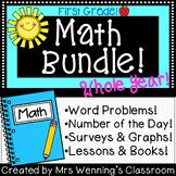 1st Grade Math Survival Kit! Whole Year Bundle of Resources!