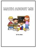 1st Grade Math About Me