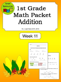 Addition Packet - Week 11