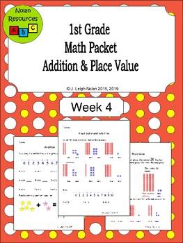 Basic Addition & Place Value Packet - Week 4