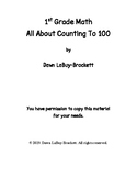 1st Grade Math - All About Counting To 100