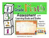 1st Grade Math Assessment (1.OA.1, 1.G.1-2) with Marzano S