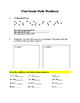 1st Grade Math Workbook
