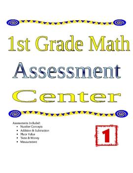 1st Grade Math Assessment Center
