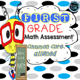 First Grade Math Assessments - Common Core Aligned