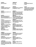 1st Grade Math CCSS Avery 5160 Labels