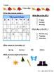 Calendar Math Packet - Week 10