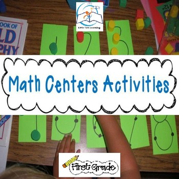 Math Centers & Activities for 1st Grade {Common Core Aligned}