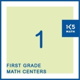 1st Grade Math Centers for the Entire School Year