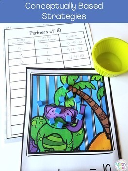 1st Grade Math Centers Bundle | Includes Fall Math Centers
