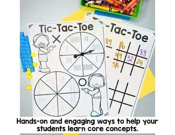 1st Grade Math Centers MEGA Bundle