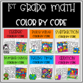 1st Grade Math Color by Code