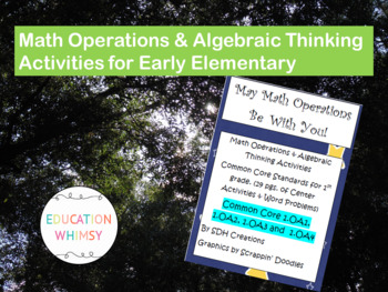 1st Grade Math Common Core Activities & Word Problems by ...