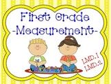 1st Grade Math (Common Core Aligned 1.MD.1 , 1.MD.2)