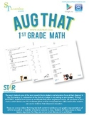 1st Grade Math Common Core - Augmented Reality - 14 Animated Lessons Bundle