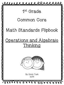 1st Grade Math Common Core Standards Flipbook: OA
