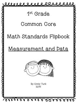 1st Grade Math Common Core Standards Flipbook: MD
