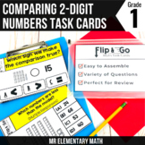 Comparing Numbers - 1st Grade Math Flip and Go Cards