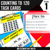 Count to 120 Task Cards 1st Grade Math Centers
