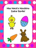 1st Grade Math Easter Bundle- Common Core aligned