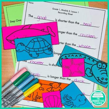 1st Grade Math Engage New York Aligned Activities: Year Bundle