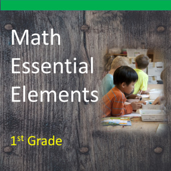 1st Grade Math Essential Elements for Cognitive Disabilities: Data Collection