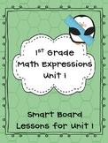 1st Grade  Math Expressions Unit 1