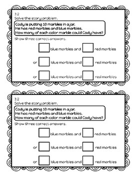 1st Grade Math Expressions Unit 3 Exit Slip Journal