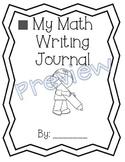 1st Grade Math Expressions Unit 4 Writing Journals