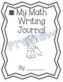 1st Grade Math Expressions Unit 4 Writing Journals