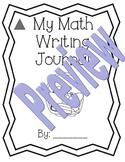 1st Grade Math Expressions Unit 8 Writing Journals