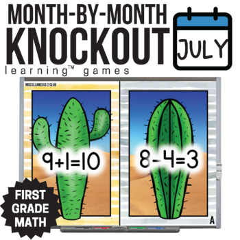 1st Grade Math Game [Review Part 2 Knockout Club]