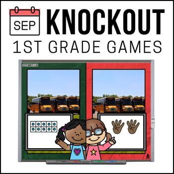 1st Grade Math Game [September Knockout Club]