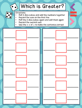 1st Grade Math Games - Set 1 - Common Core Aligned