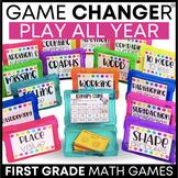 1st Grade Math Games BUNDLE | First Grade Math Games | 1st Grade Math Centers